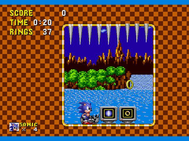 Sonic the Hedgehog (USA, Europe) [Hack by Hivebrain v0 20] (~Sonic